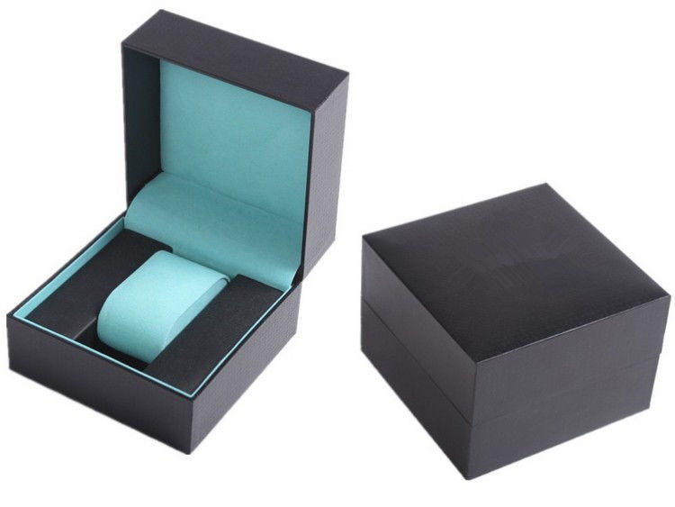 Luxury Waterproof Velvet Plastic Watch Box Dustproof Smooth Touch And Lustrous